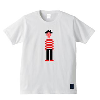 しましま先生 Tシャツ