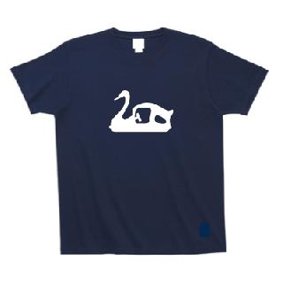 スワンボート シルエットTシャツ