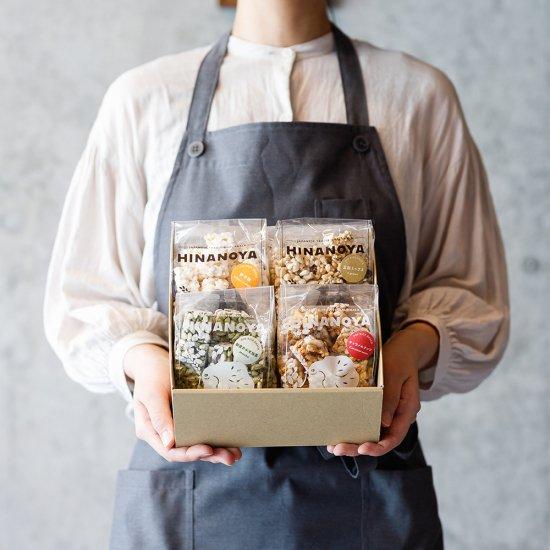 ポン菓子4種詰合箱