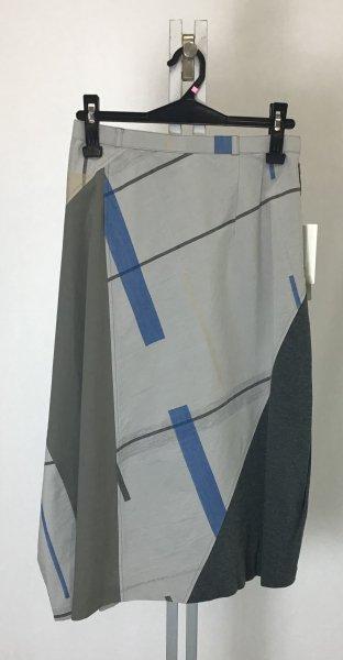 ☆新商品☆デザイン スカート 異素材組み合わせ