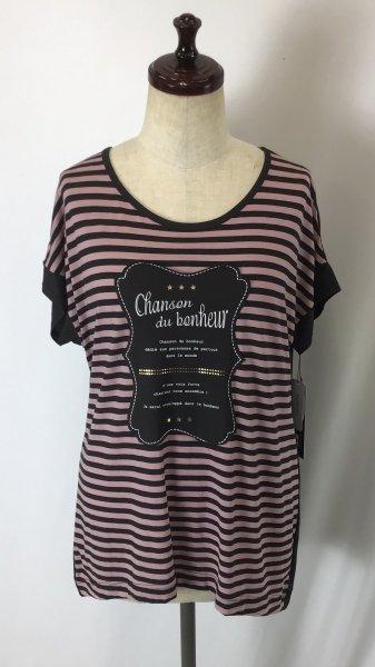 ☆新商品☆ デザイン Tシャツ 綿100% 日本製 ボーダー