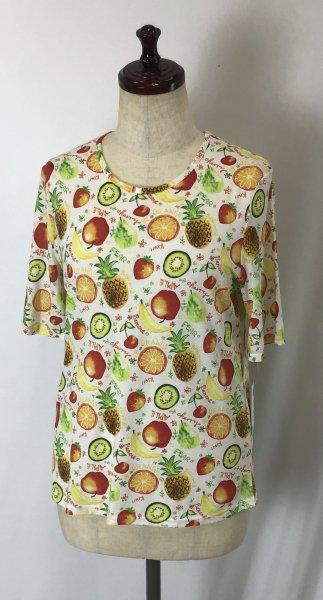 ☆新商品☆デザイン Tシャツ 綿100% フルーツ柄