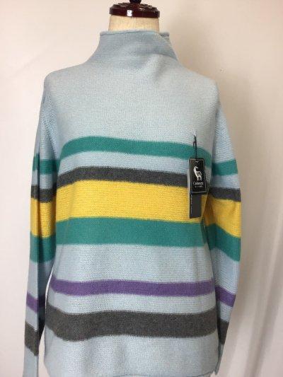 カシミヤ100%セーター ゆったりサイズ