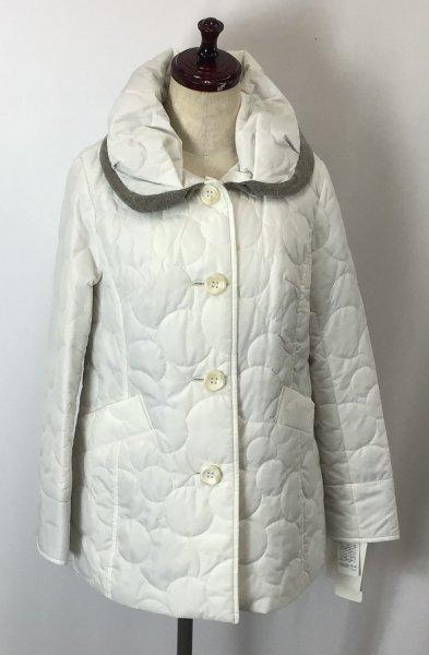 ☆新商品☆ ミッシェルモデロ キルティング中綿ジャケット ホワイト
