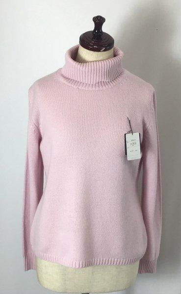優しい印象のピンク( ^ω^ )カシミヤ100%セーター