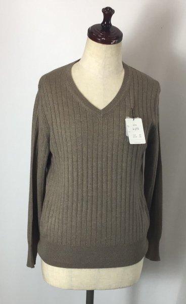 シンプルイズベスト( ^ω^ )シルク混セーター