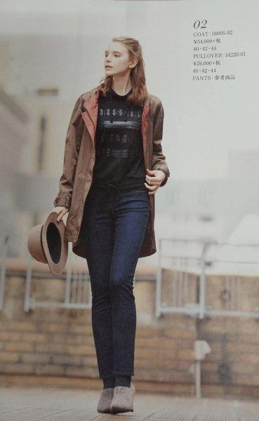 『新品・未使用』デザインコート モデルさんを参考に♪ カラー3色