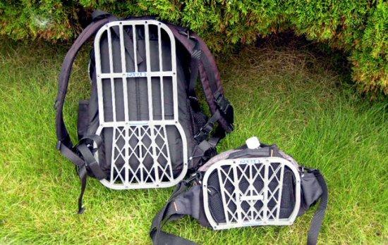 汗とおる君 小さいバッグへも取り付けできます。