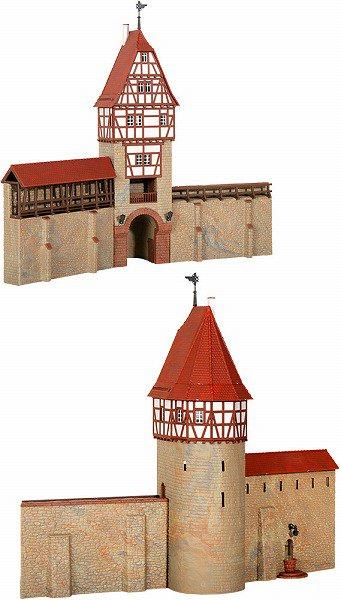 キブリ(kibri) ストラクチャー ヴァイルデアシュタットの塔と城壁 ...