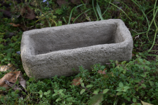 NATURAL STONE RECTANGLE PLANTER