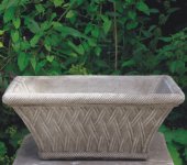 RECTANGULAR BASKET POT