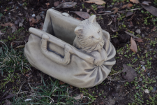 KITTEN IN BAG PLANTER
