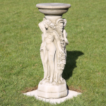 THREE GRACES SUNDIAL BASE