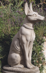 LARGE SEATED PHARAOH DOG <img class='new_mark_img2' src='//img.shop-pro.jp/img/new/icons51.gif' style='border:none;display:inline;margin:0px;padding:0px;width:auto;' />