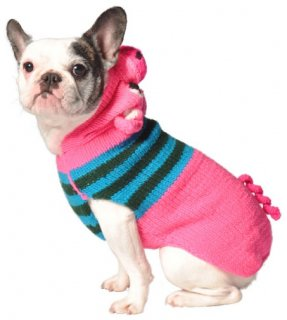 <img class='new_mark_img1' src='//img.shop-pro.jp/img/new/icons58.gif' style='border:none;display:inline;margin:0px;padding:0px;width:auto;' />Chilly Dog- Pink Piggy Hoodie-(S)-(M)