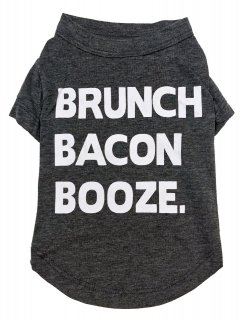 <img class='new_mark_img1' src='//img.shop-pro.jp/img/new/icons1.gif' style='border:none;display:inline;margin:0px;padding:0px;width:auto;' />fab dog Brunch Bacon Booze Dog T-shirt (L)