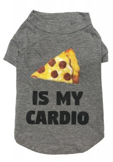 <img class='new_mark_img1' src='//img.shop-pro.jp/img/new/icons1.gif' style='border:none;display:inline;margin:0px;padding:0px;width:auto;' />fab dog Pizza Is My Cardio Dog T-shirt (L)