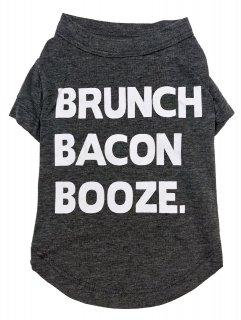 <img class='new_mark_img1' src='https://img.shop-pro.jp/img/new/icons25.gif' style='border:none;display:inline;margin:0px;padding:0px;width:auto;' />fab dog Brunch Bacon Booze Dog T-shirt (S) 小型—中型犬サイズ