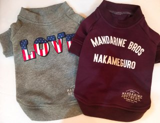 <img class='new_mark_img1' src='//img.shop-pro.jp/img/new/icons1.gif' style='border:none;display:inline;margin:0px;padding:0px;width:auto;' />MB Crew Neck Sweat-中型〜大型犬サイズ・Mandarine Brothers