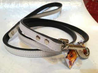 RN design Plain Leather Lead White(XS)