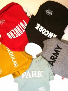<img class='new_mark_img1' src='https://img.shop-pro.jp/img/new/icons1.gif' style='border:none;display:inline;margin:0px;padding:0px;width:auto;' />MB Crew Neck Sweat -MB クルーネック スウェット(小型ー中型犬サイズ)- SOLD OUT