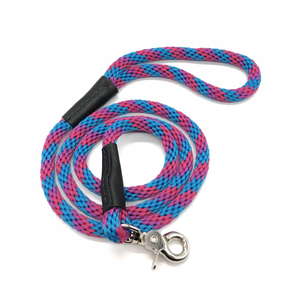 <img class='new_mark_img1' src='https://img.shop-pro.jp/img/new/icons14.gif' style='border:none;display:inline;margin:0px;padding:0px;width:auto;' />WEAVER - Rope leash -(ハリーブルー/ピンク/パープルマルチ)