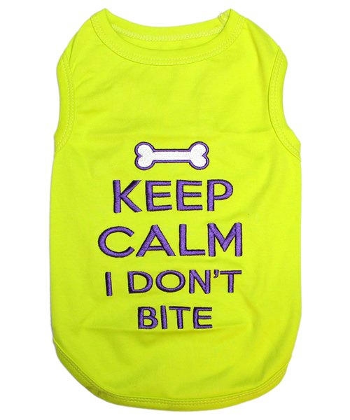 <img class='new_mark_img1' src='https://img.shop-pro.jp/img/new/icons14.gif' style='border:none;display:inline;margin:0px;padding:0px;width:auto;' />Keep Calm Tank-(S)-(M)小型犬サイズ