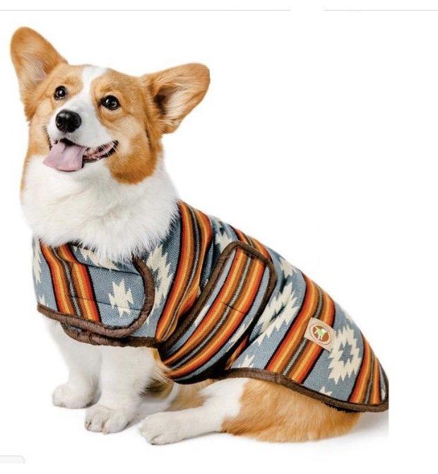 <img class='new_mark_img1' src='https://img.shop-pro.jp/img/new/icons14.gif' style='border:none;display:inline;margin:0px;padding:0px;width:auto;' />Chilly Dog - Denim Sunset Coat (S)中型犬サイズ