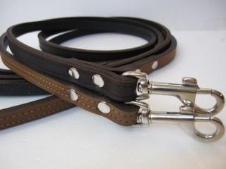 RN design Plain Leather Lead チョコレートブラウン/チェスナッツブラウン(S)サイズ
