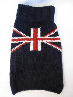 (XS)Chilly Dog  Union Jack