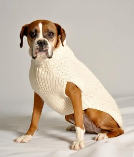 <img class='new_mark_img1' src='https://img.shop-pro.jp/img/new/icons1.gif' style='border:none;display:inline;margin:0px;padding:0px;width:auto;' />(XS)Chilly Dog Cable Knit Natural