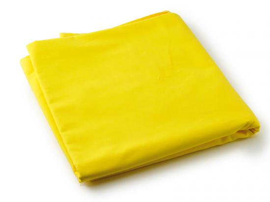 熟練した職人が本物のうこんで染めた、本染め黄金布 No.33 厚手幅広タイプ110cm×1m