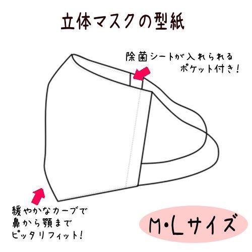 立体 マスク の 型紙