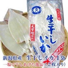 新潟県産 生干しイカ 1袋(2枚入れ)