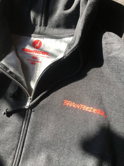 BRAINFEEDER zip fooded parka