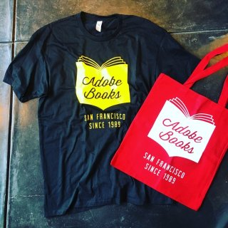 Adobe Bookstore T-shirts /tote bag