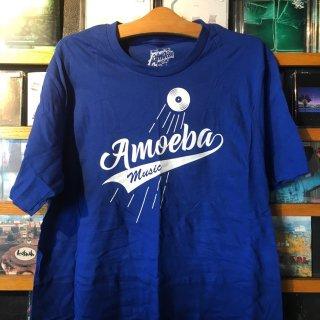 Amoeba Records T shirts LA店限定 野球チームドジャースデザイン