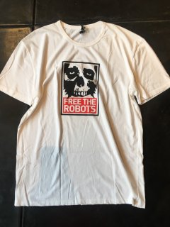 FREE THE ROBOT x OBEY LIMITED EDITION T shirts