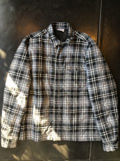 Used Quilting Nel shirts Jacket