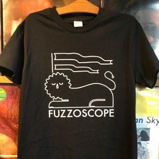 Fuzzoscope t shirts (black )
