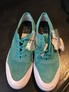 HUF Mint green Suede Sneaker/SIZE US9 New