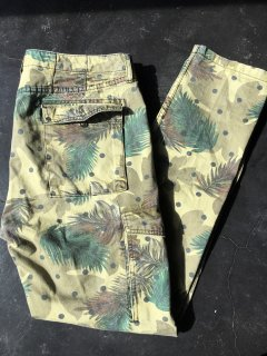 Camouflage pattern Cotton Pants / Used