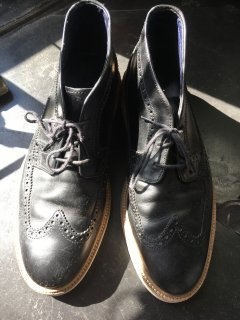 Cole Haan / Wing tip Leather shoes (used)