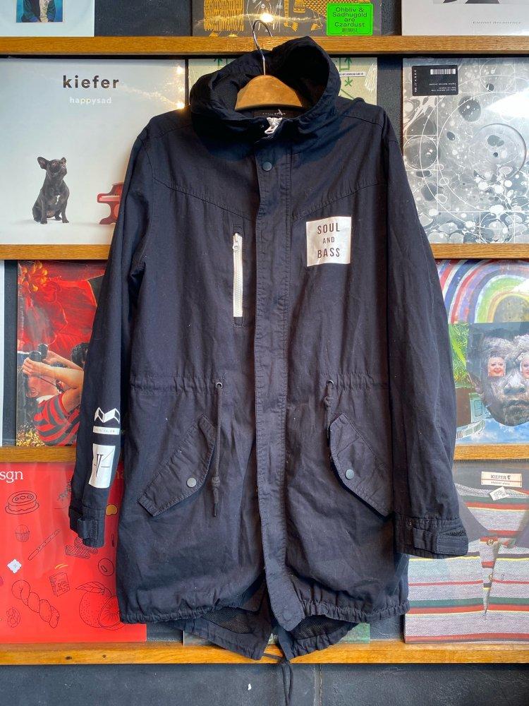 Hoody Cotton Coat / Used
