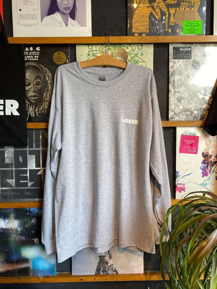 LOSER 23th Anniversary T shirts / New (Long Sleeve)