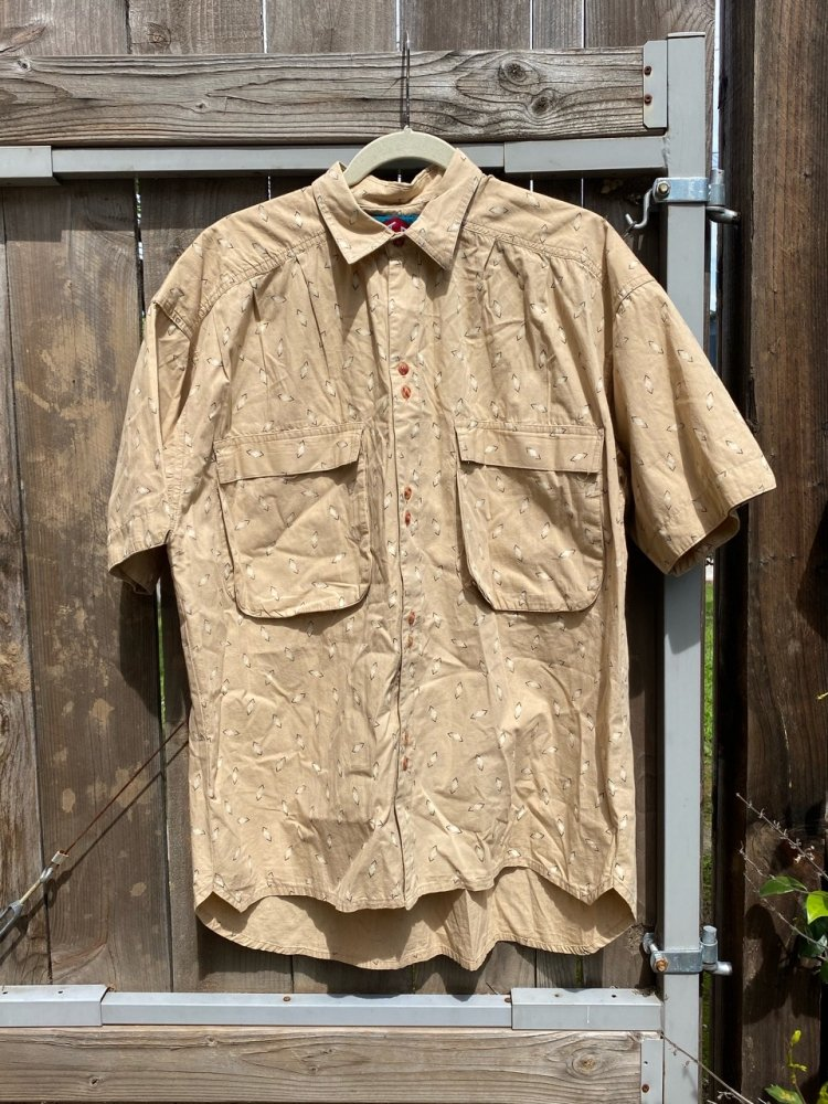 Cotton S/S 柄SHIRTS used