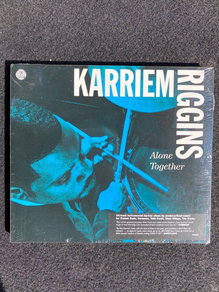 KARRIEM RIGGINS / ALONE TOGETHER