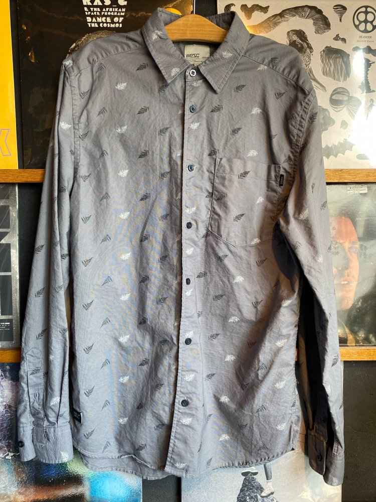 SALE中!販売価格から1000円引き!Used Cotton Shirts / WESC