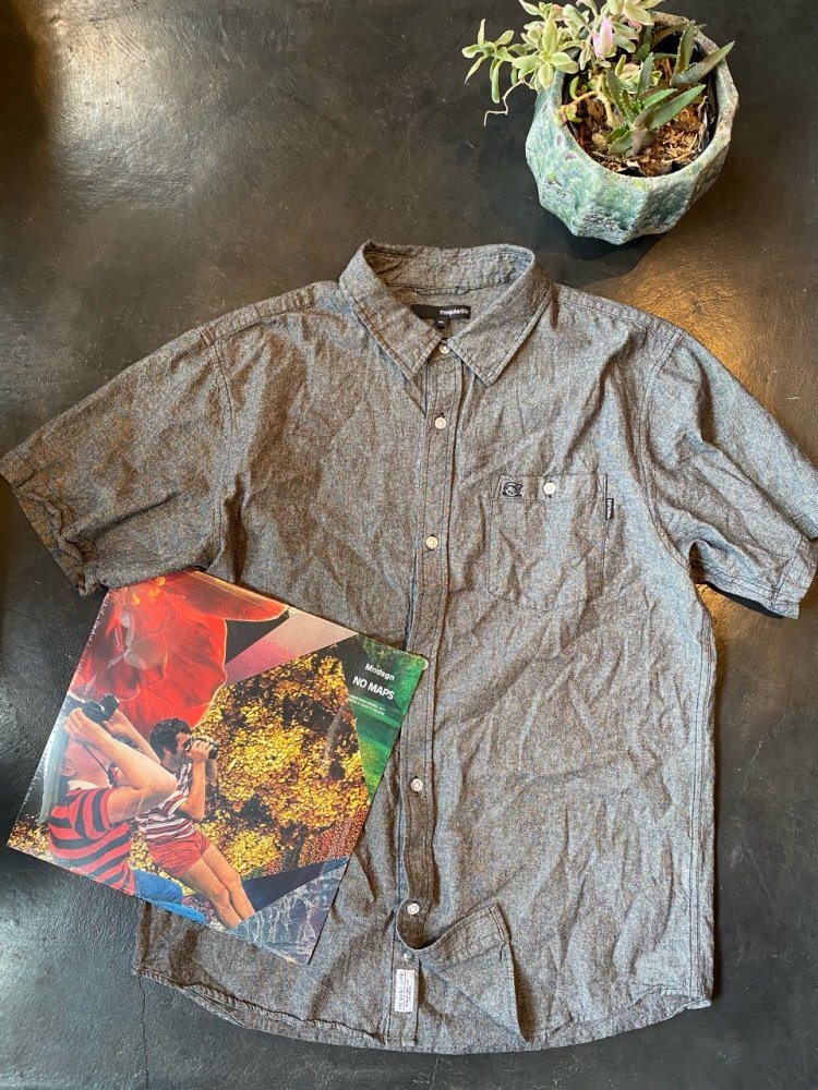 The Quiet Life - Cotton denim Chambray Shirts -used