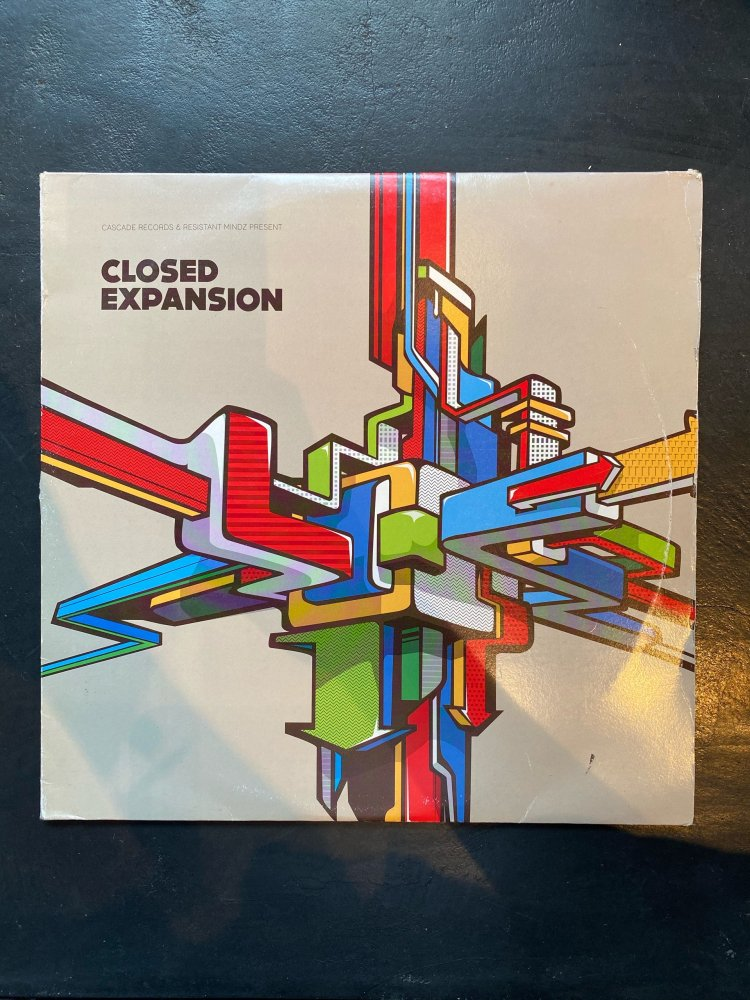 CASCADE RECORDS& RESISTANT MINDS PRESENT -CLOSED EXPANSION 2LP -USED